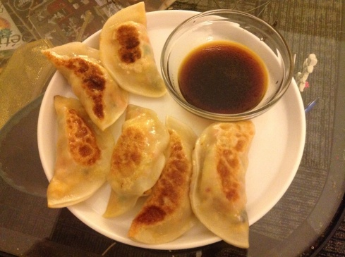 Oh, just some dumplings I whipped up from scratch.