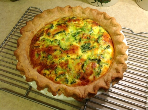 Quiche for days, y'all!