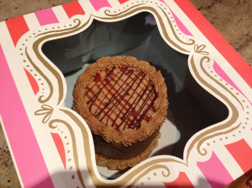 Melissa made me a cake!