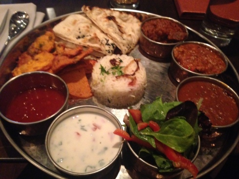 Beautiful thali!