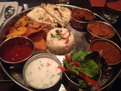 Beautiful thali!