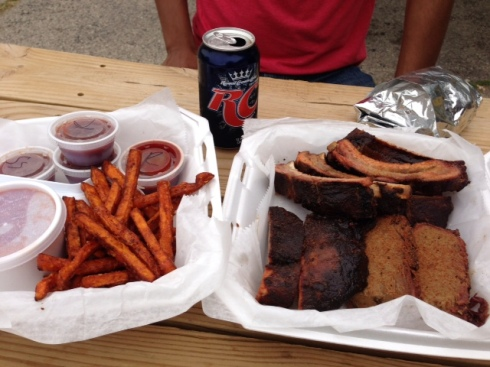 BBQ for 2, or more realistically 4.